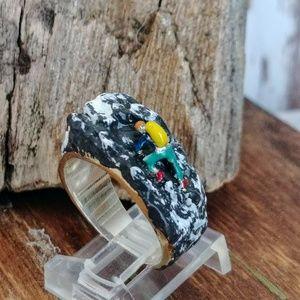 Cliff Hanger Custom Sterling Ring